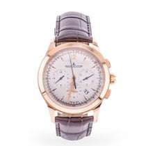 Jaeger-LeCoultre Master Chronograph Or rose 40mm Argent