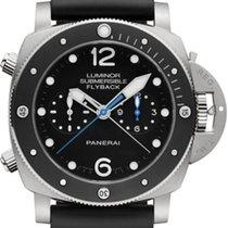 Panerai Luminor Submersible 1950 3 Days Automatic Titanium 44mm Black Arabic numerals