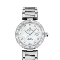Omega De Ville Ladymatic Steel 34mm Mother of pearl United States of America, New York, New York