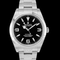 Rolex Explorer Steel 39.00mm Black United States of America, California, San Mateo