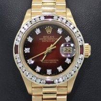 Rolex President 69178 Datejust 18k Yelow Gold 1.05ct Diamond...