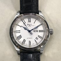Ball Trainmaster Roman Acero 41mm