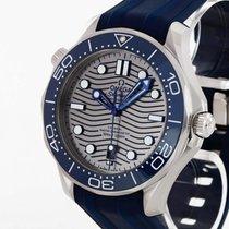 Omega Seamaster Diver 300 M neu 2019 Automatik Uhr mit Original-Box und Original-Papieren 210.32.42.20.06.001