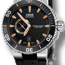 Oris Aquis Small Second Steel 46mm Black United States of America, New York, New York