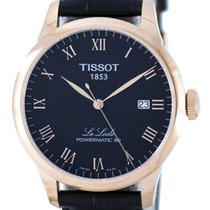 Tissot Le Locle Gold/Steel 39.3mm Black Roman numerals Singapore, Singapore