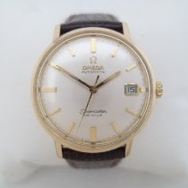 Omega Seamaster DeVille Yellow gold 34mm White No numerals