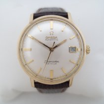 Omega Yellow gold 34mm Automatic 166.5020 De Ville quick set date cal 565 pre-owned