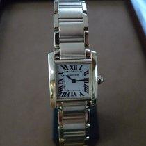 Cartier Tank Française W50002N2 Good Yellow gold 20mm Quartz