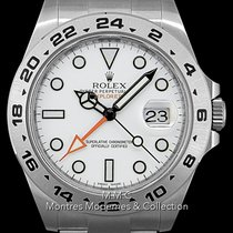 Rolex Explorer II Acier 42mm Blanc France, Paris