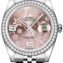 Rolex Lady-Datejust nuevo Automático Reloj con estuche original 116244-PNKAJ