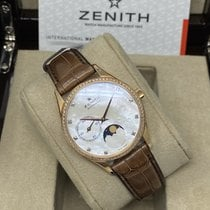 Zenith Elite Ultra Thin Oro rosa 33mm Madreperla Sin cifras