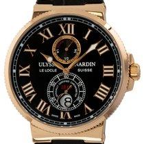 Ulysse Nardin Marine Chronometer 43mm Rose gold 43mm Black Roman numerals