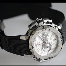 Clerc Steel 44.6mm Automatic Hydroscaph L.E Central Chronograph CHY-111 new