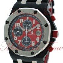 Audemars Piguet Carbon Automatic Red Arabic numerals 42mm new Royal Oak Offshore Chronograph