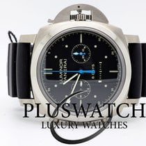 Panerai Luminor 1950 Rattrapante 8 Days Титан 47mm Чёрный