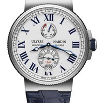Ulysse Nardin Marine Chronometer Stainless Steel Men's Watch