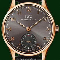 IWC Portuguese 44mm Manual Winding 18k Rose Gold Box&Papers