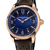 Frederique Constant 42mm Quartz nieuw Horological Smartwatch Blauw