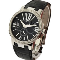 Ulysse Nardin 243-00B-3/42 Executive Dual Time with Diamond...