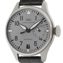 IWC Big Pilot White Gold LE IW500430