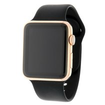 Apple Watch Edition 1 18K Rosé Gold Ceramic Black