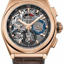 Zenith Rose gold 44mm Automatic 18.9000.9004/71.R585 new