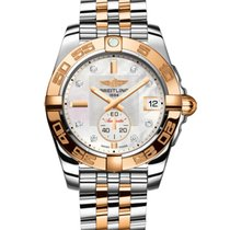 Breitling Galactic 36 Automatic Steel & Rose Gold
