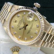 Rolex Datejust Yellow gold 31mm Champagne No numerals United States of America, Pennsylvania, HARRISBURG