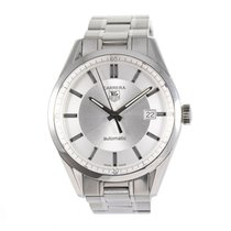 TAG Heuer Carrera Calibre 5 Steel 38.5mm Grey