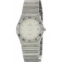 Omega Constellation Steel 34mm White