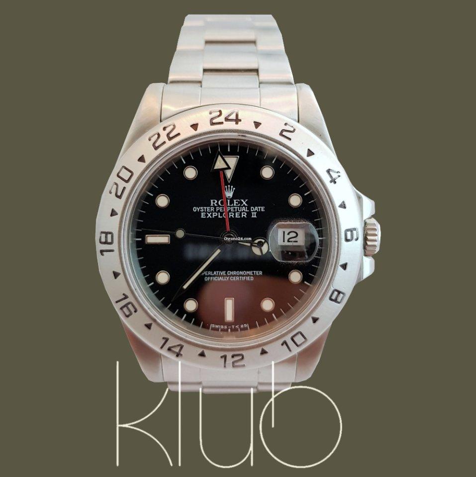 a550e8bafe7 Relógios Rolex Explorer II usados