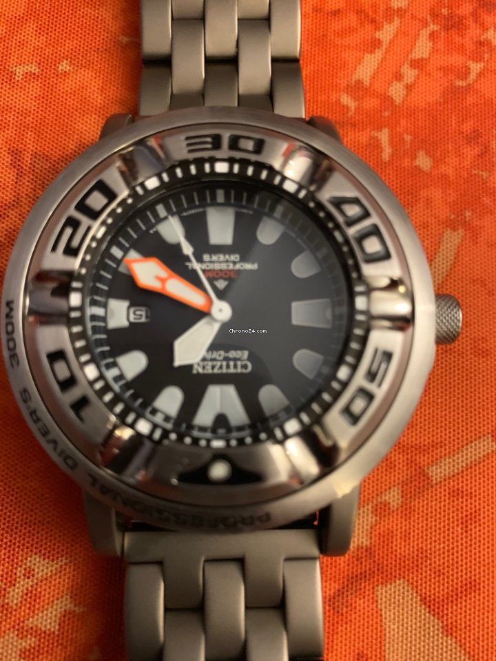 Citizen Ecozilla with titanium bracelet and adapters -... for Rs ... 6038a4f014