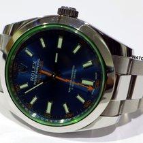 Rolex Milgauss Stahl 40mm Blau Schweiz, Baar