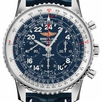 Breitling Navitimer Cosmonaute Steel 43mm Blue Arabic numerals United States of America, California, Moorpark