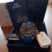 Festina Steel 45mm Quartz 00299 new