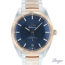 Omega Globemaster Gold/Steel 39mm Blue