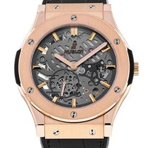 Hublot Classic Fusion Ultra-Thin Rose gold 45mm Transparent No numerals United States of America, New York, New York