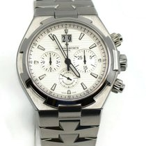 Vacheron Constantin Overseas Chronograph Steel 42mm Silver No numerals United States of America, New York, New York