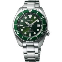 Seiko Prospex Steel 45mm Green