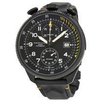 Hamilton Khaki Aviation nouveau Remontage automatique Chronographe Montre avec coffret d'origine et papiers d'origine H76786733