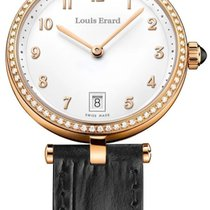 Louis Erard Romance Gold/Steel 33mm Mother of pearl
