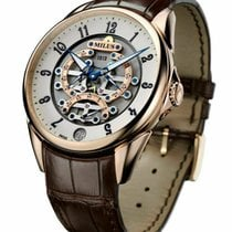Milus Rose gold 45mm Automatic TIRI600 new