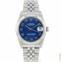 Rolex Lady-Datejust Acciaio 31mm Blu