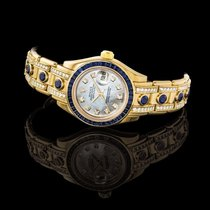 Rolex Lady-Datejust Pearlmaster Yellow gold 29mm Mother of pearl United States of America, New York, New York