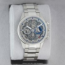 Zenith El Primero Chronomaster pre-owned 38mm Transparent Chronograph Date Year Steel