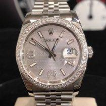 Rolex Datejust Stal 36mm Srebrny