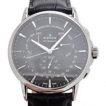 Edox Les Bémonts Perpetual Calendar Watch 01602 3 NIN