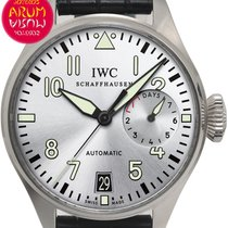 IWC Big Pilot Acero 46mm Gris España, Madrid