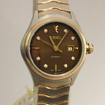 Ebel Wave Lady Automatic Steel/Gold New  Warranty 3 Years