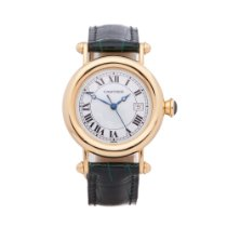 Cartier Diabolo Rose gold 32mm White Roman numerals